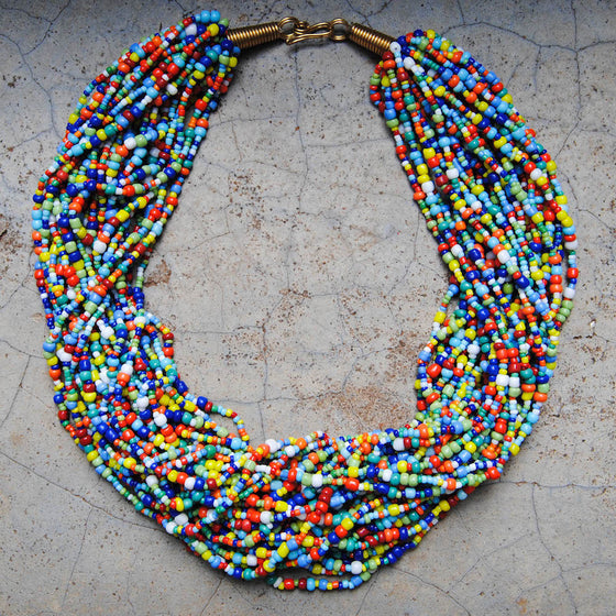 Multicolor Beaded Necklace