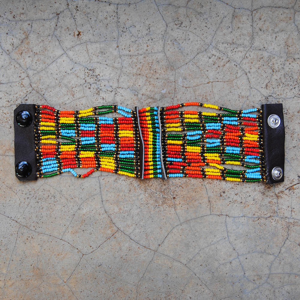 Arrow Maasai Snap Bracelet