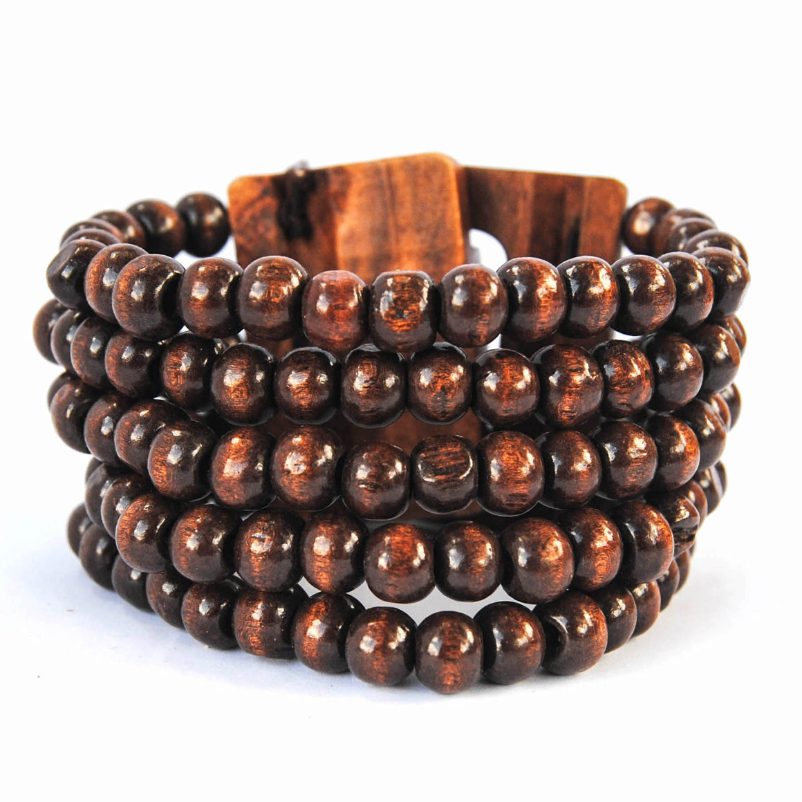 Brown Wooden Bracelet