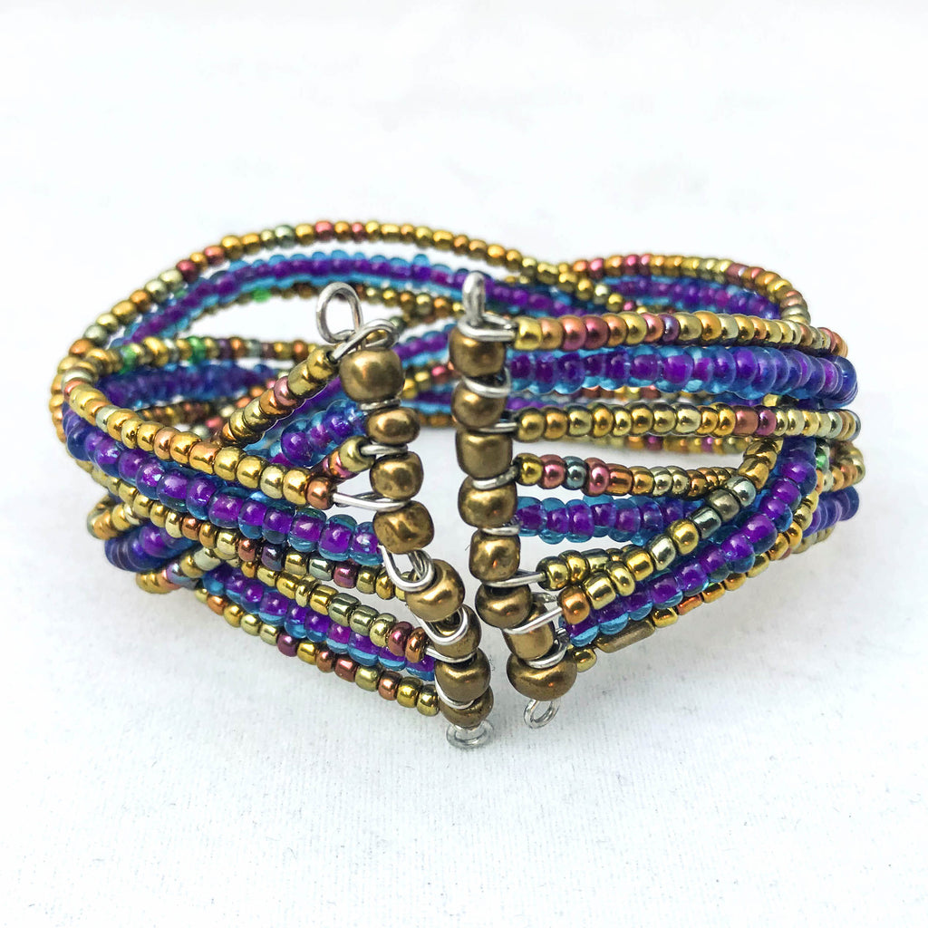 Purple Twist Bracelet