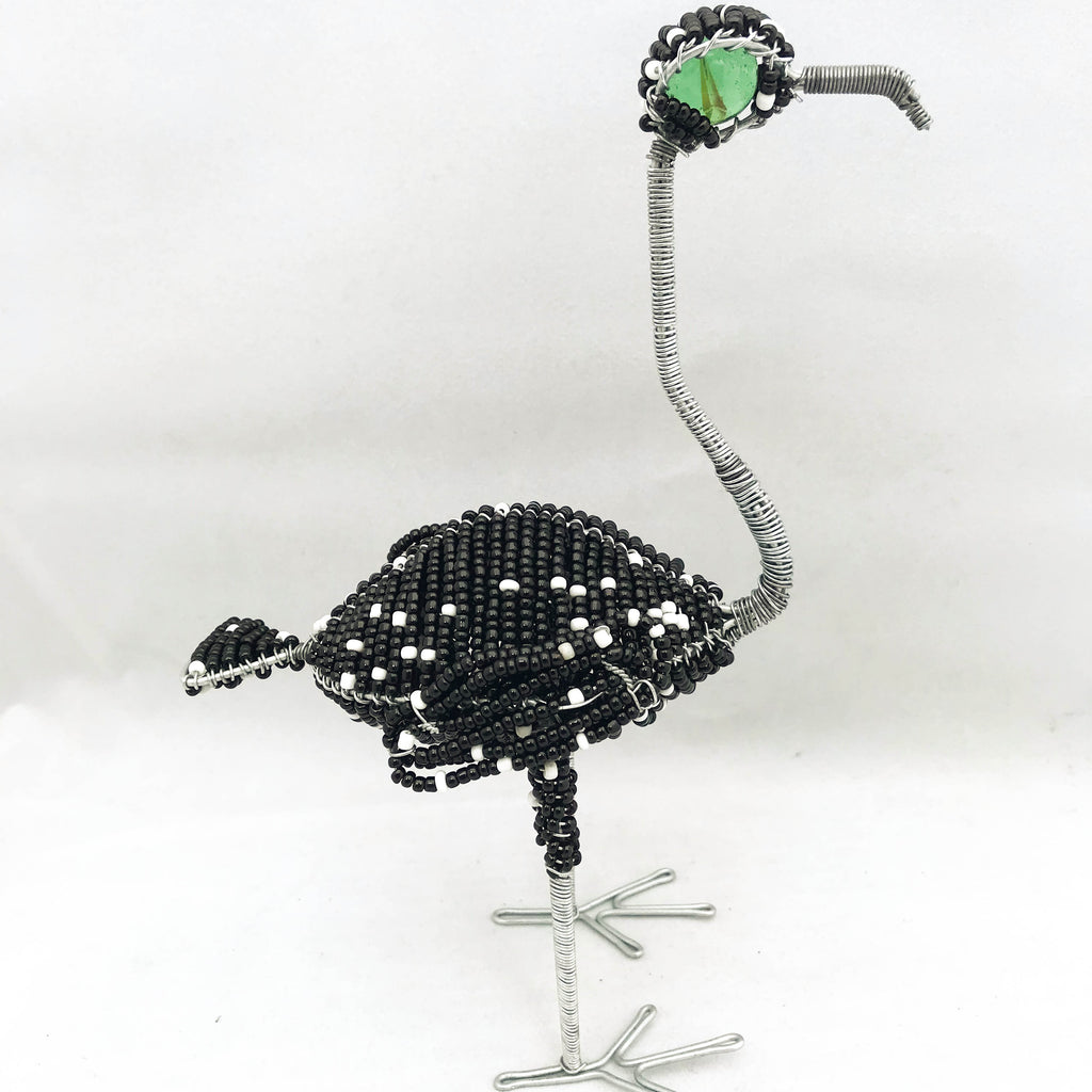 Bead and Wire Ostrich