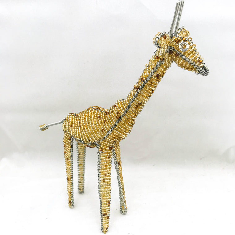Bead and Wire Giraffe