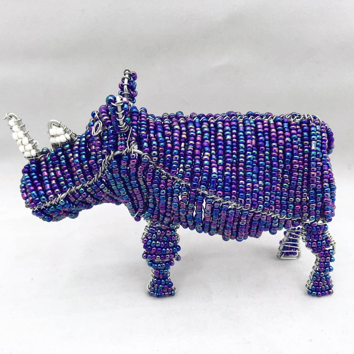 Bead and Wire Rhino