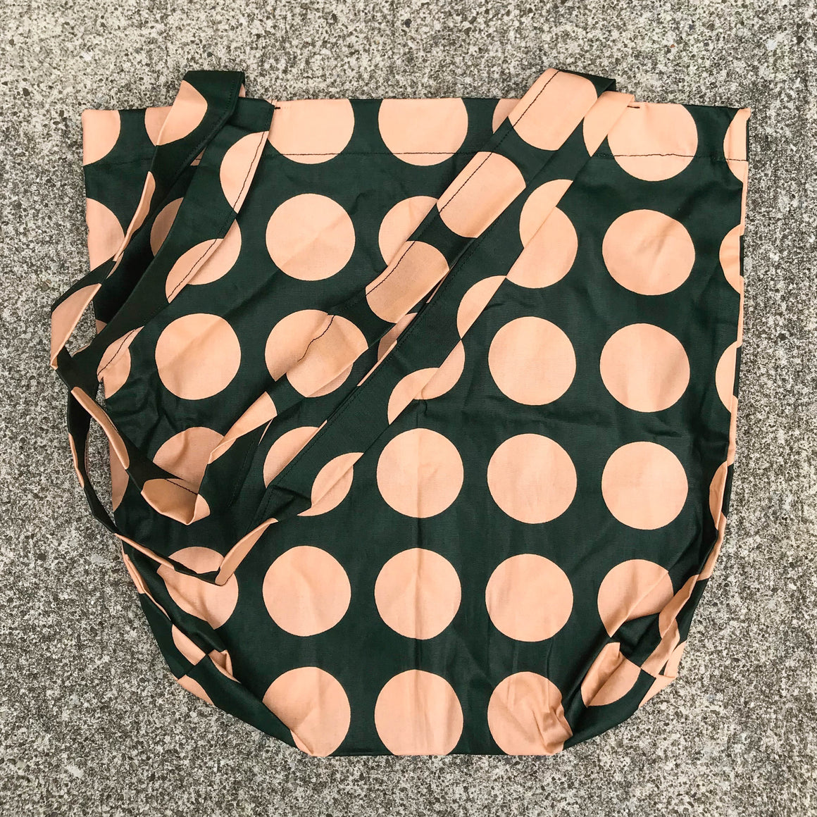 Polka Dot Kitenge Shoulder Bag