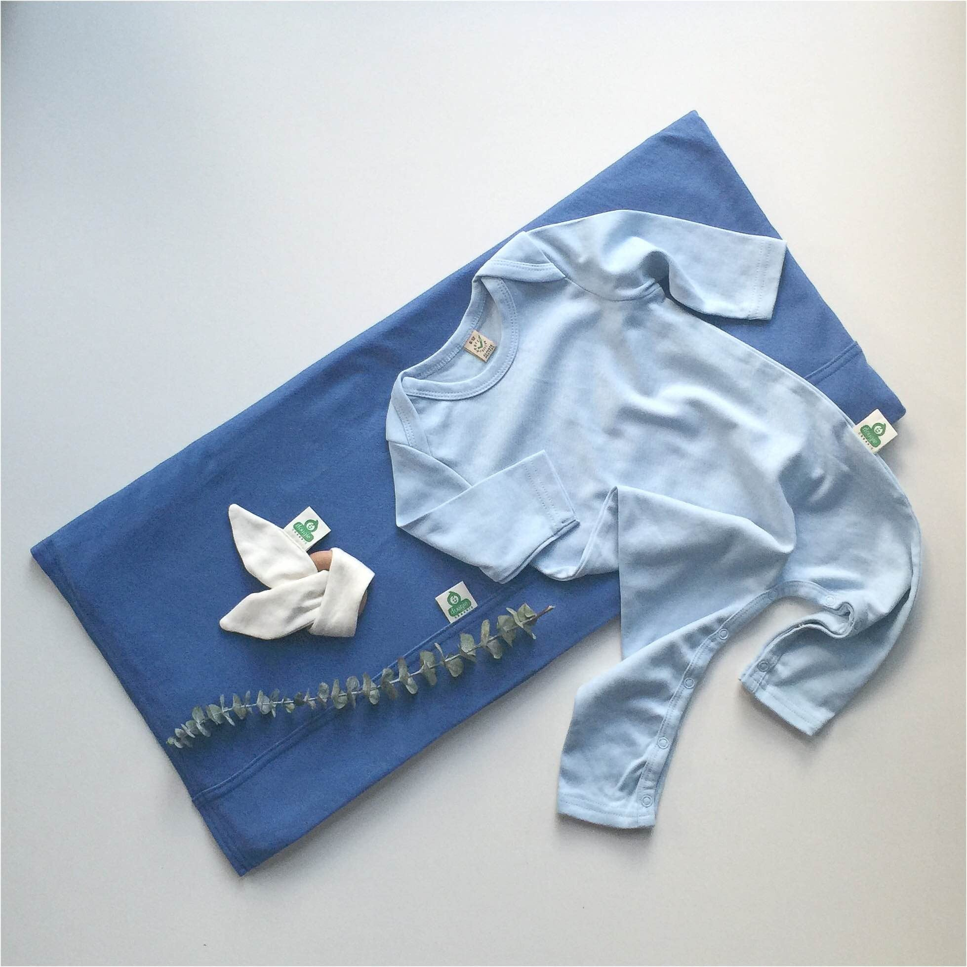 100% Organic Cotton Cot Flat Sheet