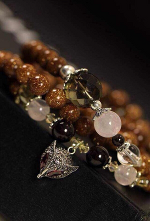 Goldstone Bracelet (Necklace)