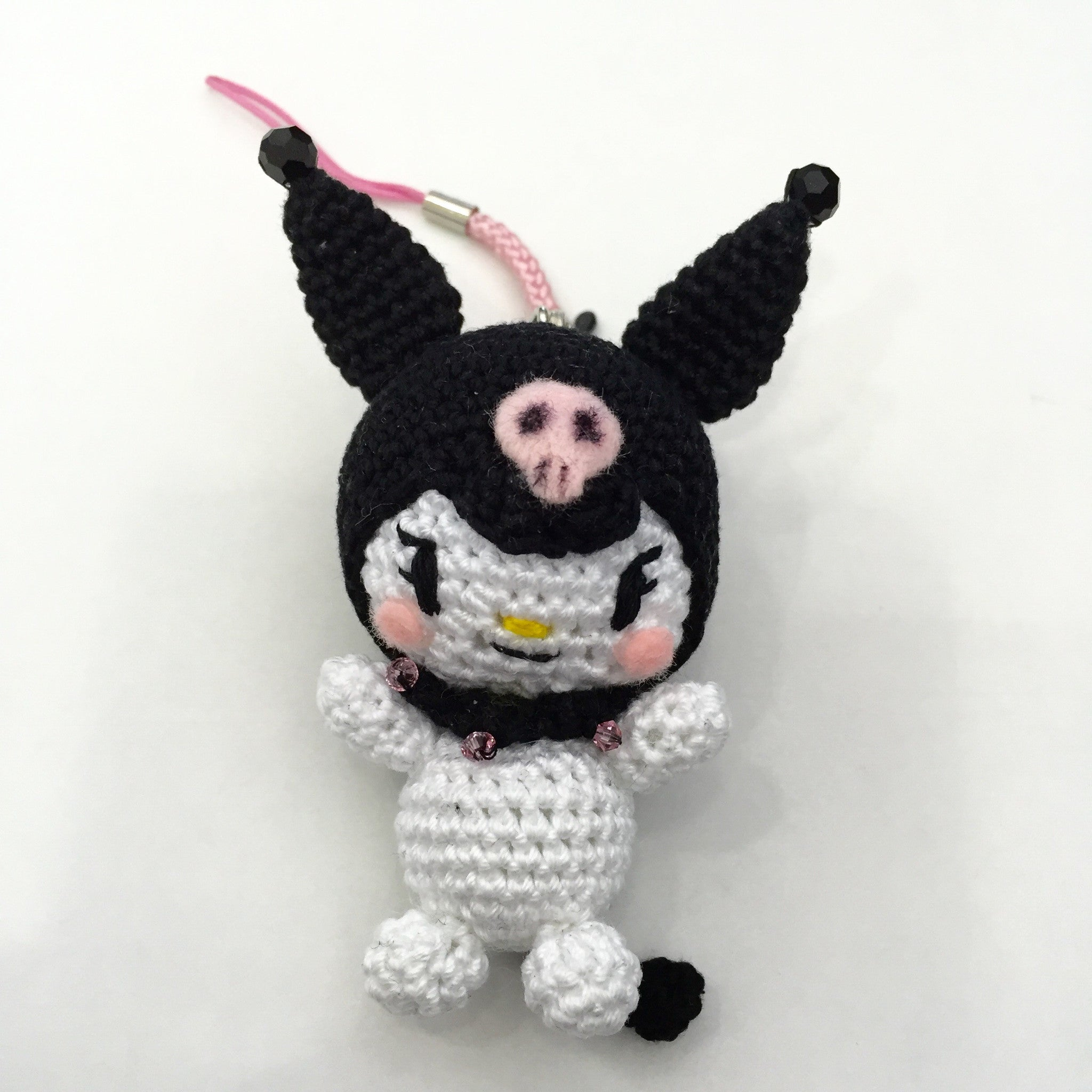 Handmade Kuromi Cell Phone Chain