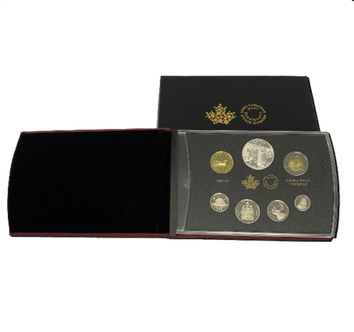 2014 100th Anniversary of the Declaration of the First World War Proof Silver Set