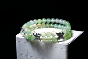 Apple Agate Bracelet