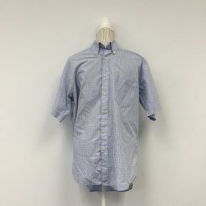 Biotto Blue Checkered Button-Up