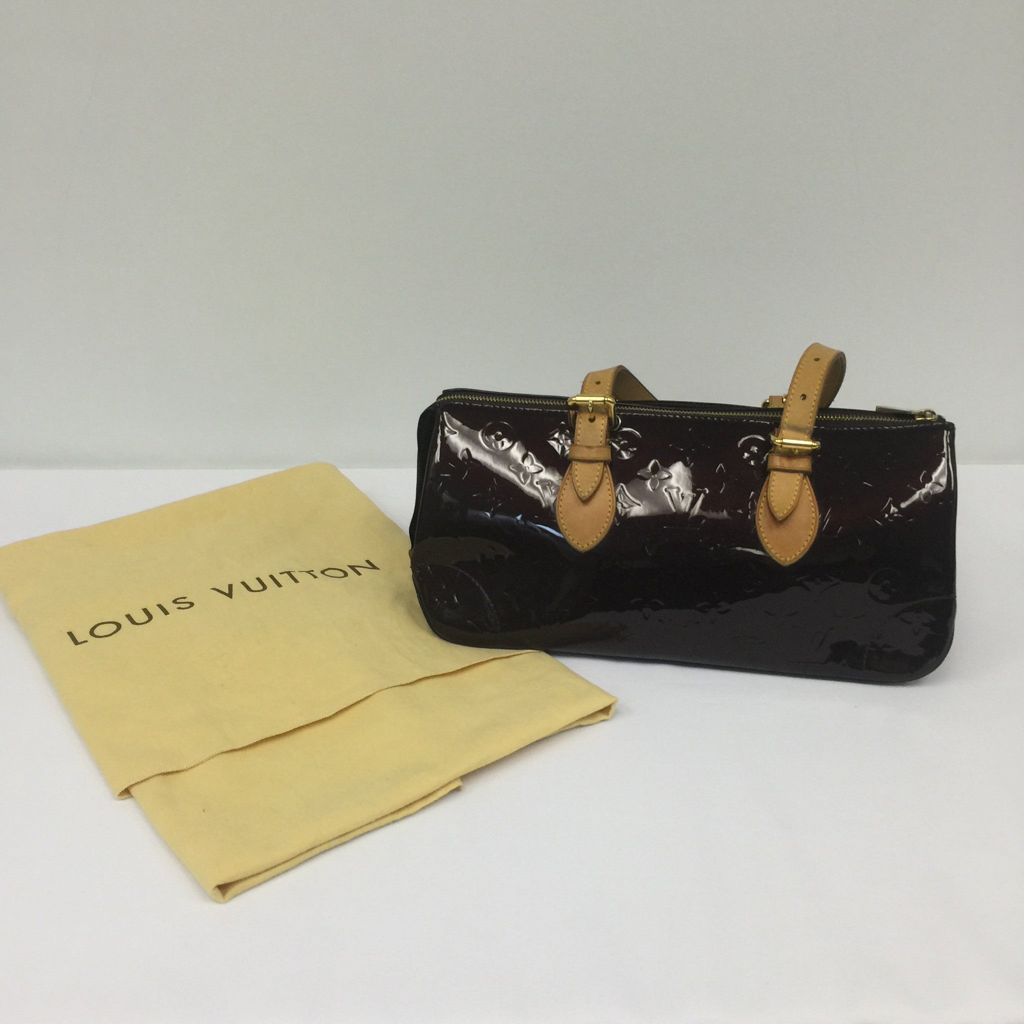 Louis Vuitton Rosewood Avenue Purple Handbag