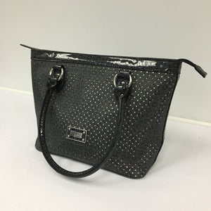 Black and Silver Guess Tote