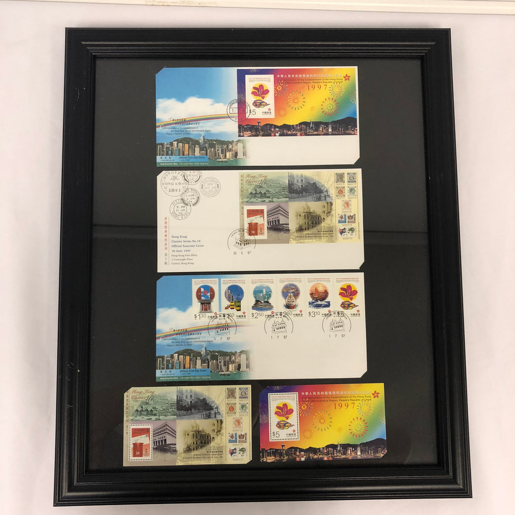 Set of stamps in commemoration of the establishment of HKSAR 1997