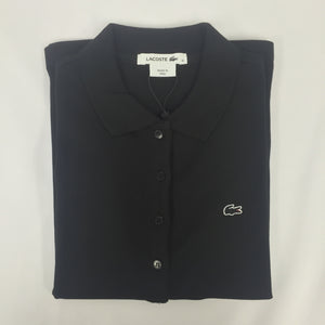 Lacoste Classic Fit Black Pique Polo