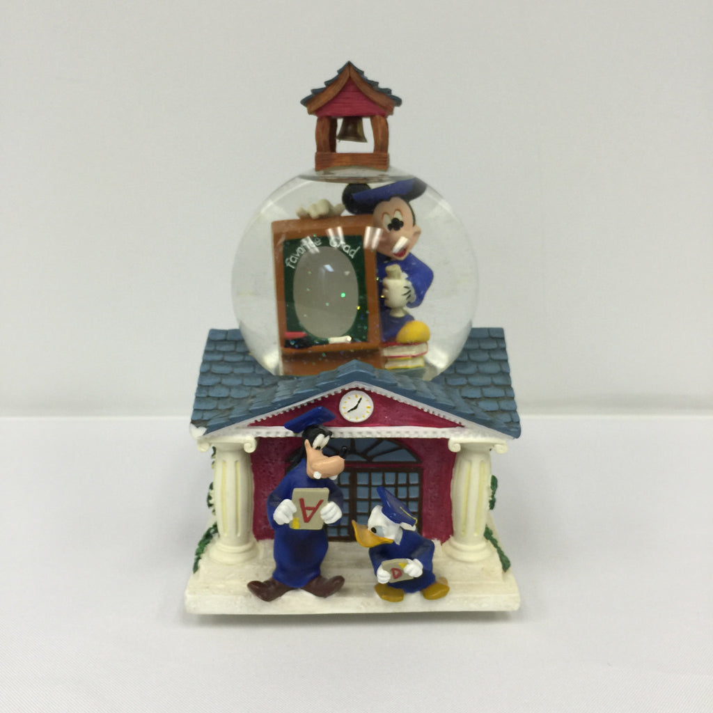 Mickey Mouse and Friends Graduation Snow Globe