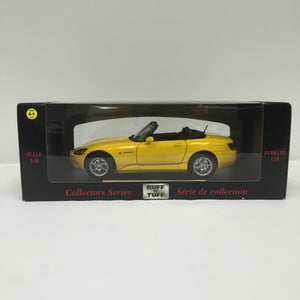 RUFF N' TUFF Collector Series Maisto Honda S2000 Japanese Version Car Figure