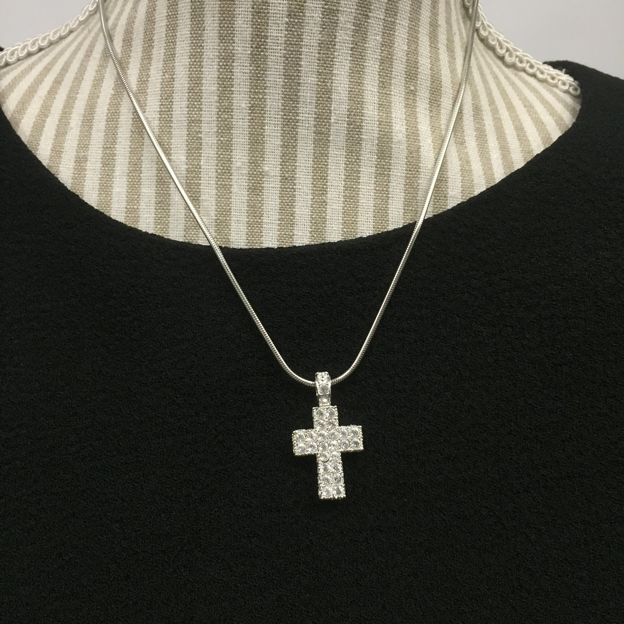Swarovski Cross Necklace