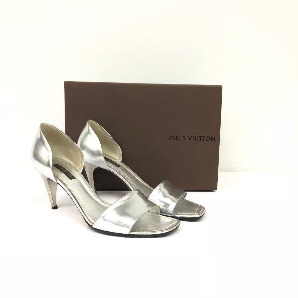 Louis Vuitton Silver Heels