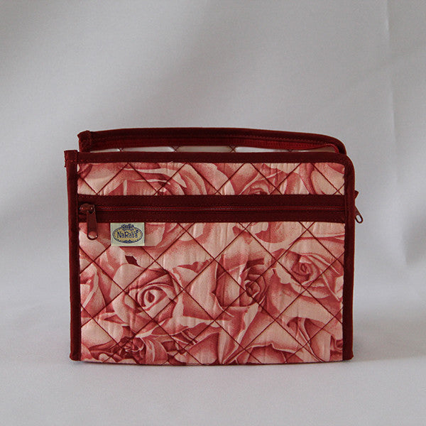 Naraya Rose Patterned Cosmetic Bag