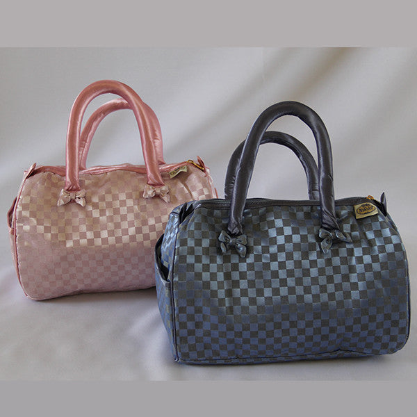 Naraya Checkered Patterned Bandouliere Bags