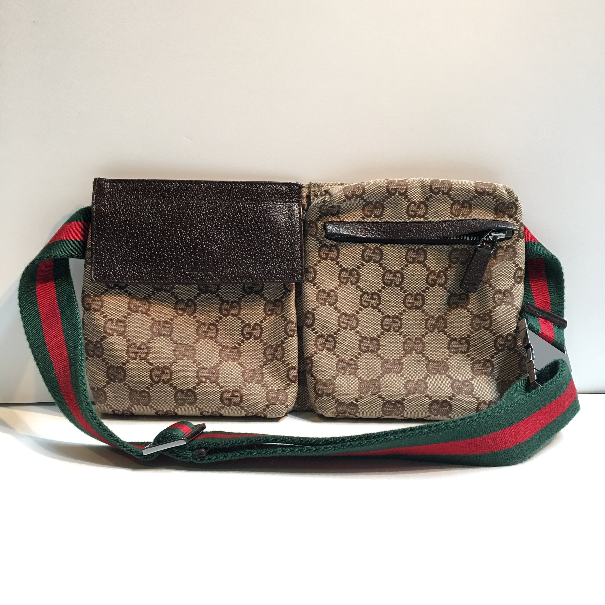 Gucci Canvas Waist Bag