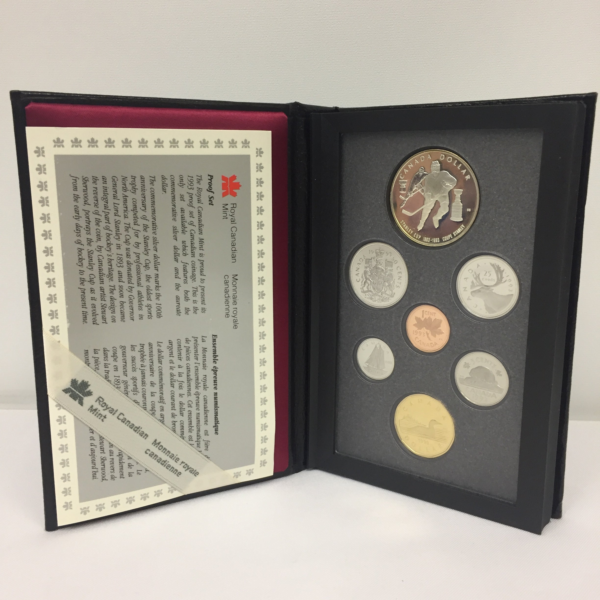 1993 Proof Coin Set of the Stanley Cup's 100th Anniversary