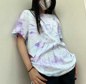 Purple Blue Spiral Tee