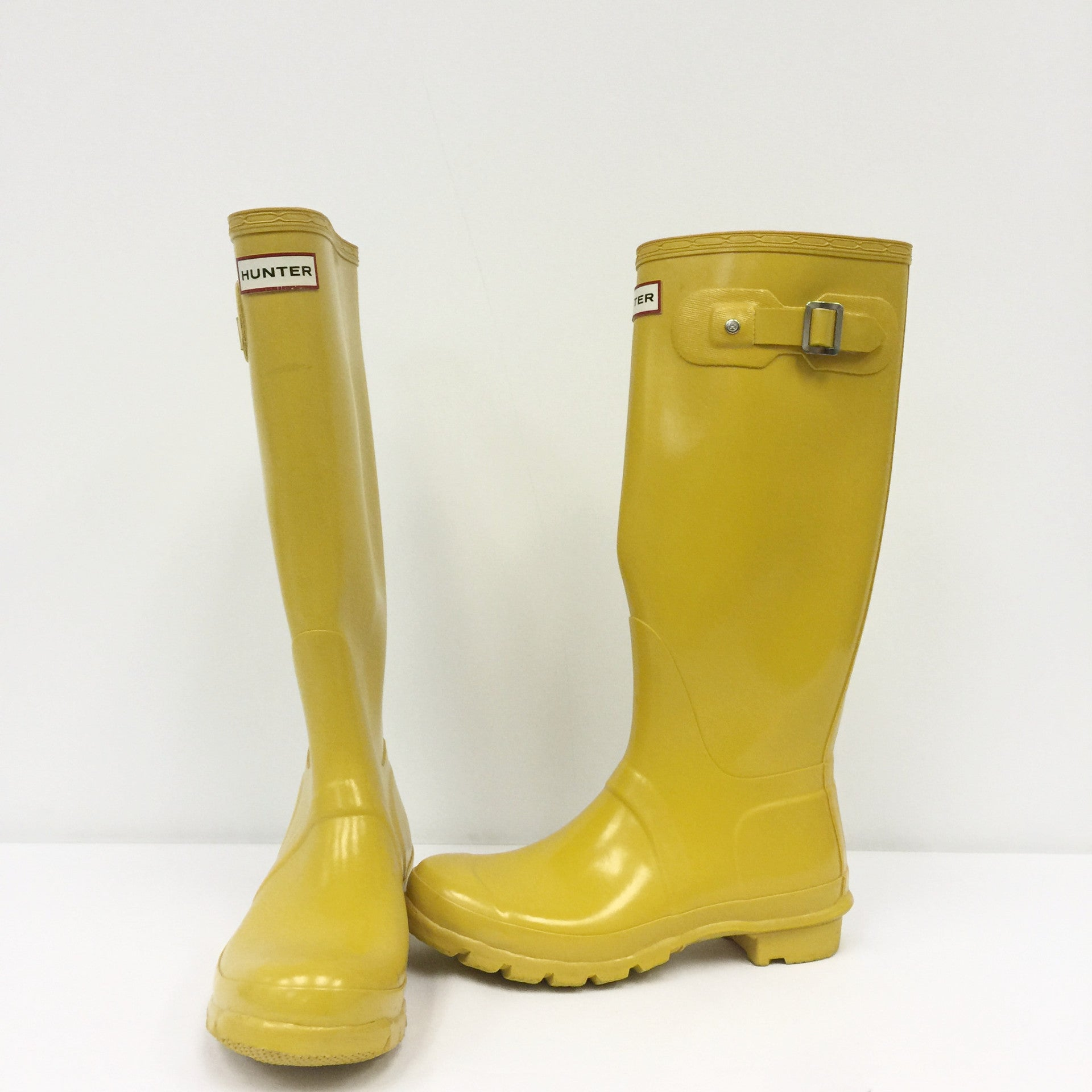 Hunter Boots (Yellow)