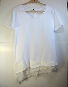 Korean Fashion White Top
