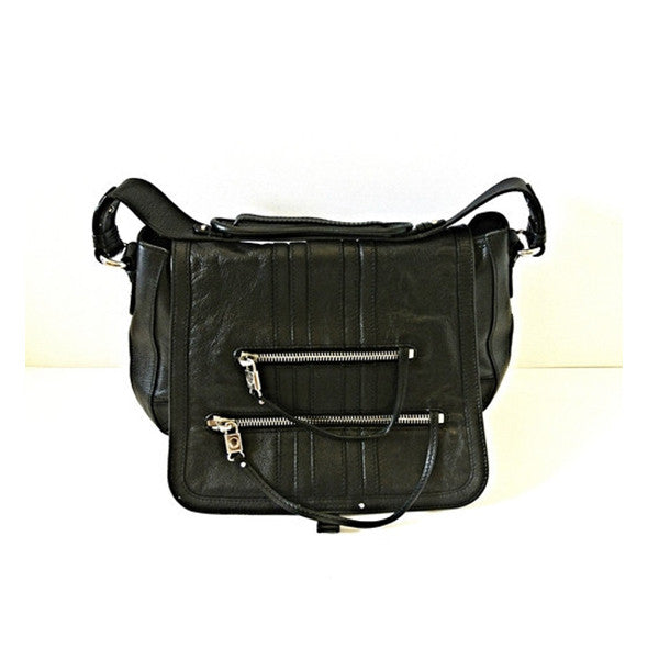 Marc Jacobs Black Zipper Bag