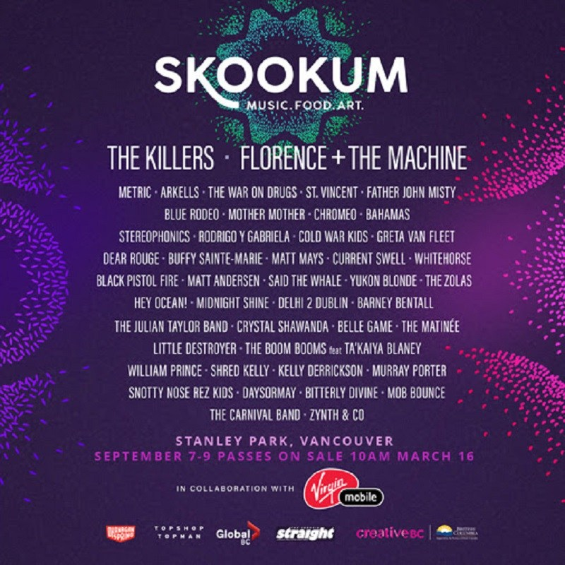 Skookum Festival 3-Day VIP Pass for 2 People