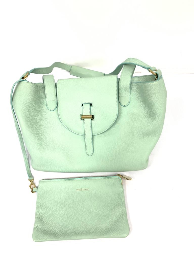 Meli Melo Teal Thela Medium Handbag