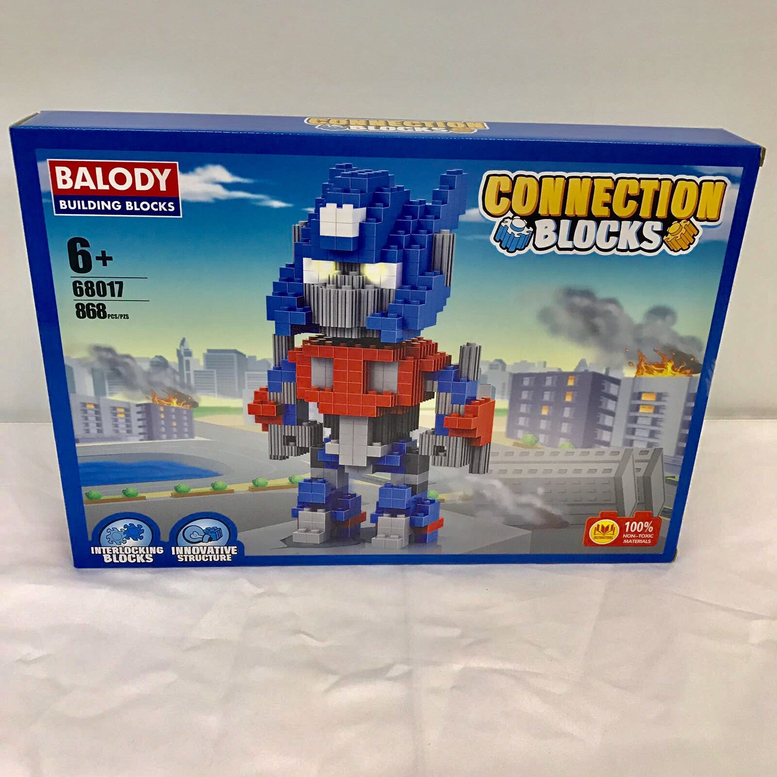 Connection Blocks Optimus