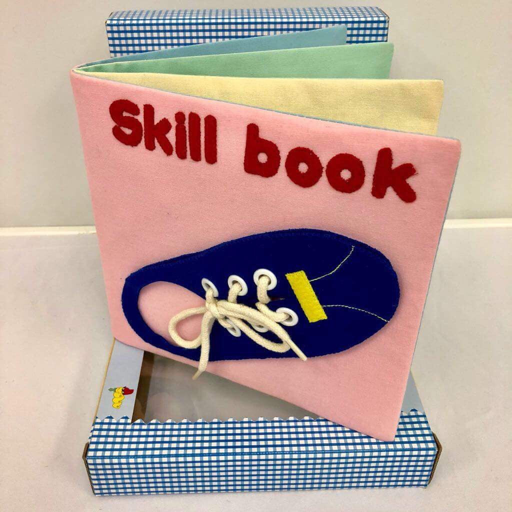 Children's Felt Learning Book (Skill Book)