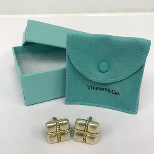 Tiffany & Co Square Signature Cufflinks