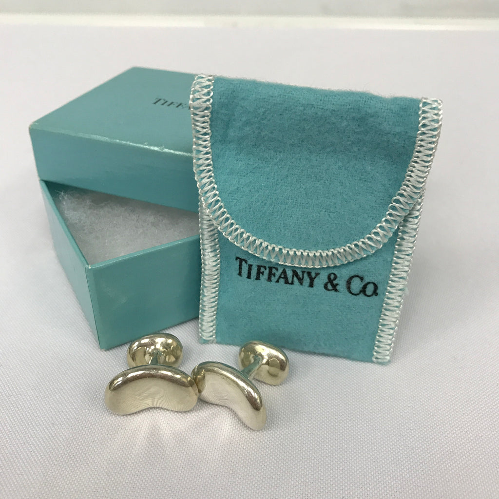 Tiffany & Co ELSA PERETTI Bean Cufflinks