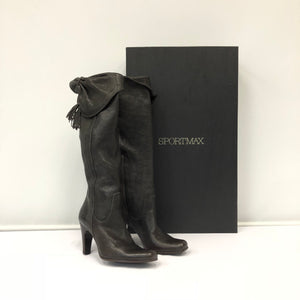 Sportmax Leather Boots