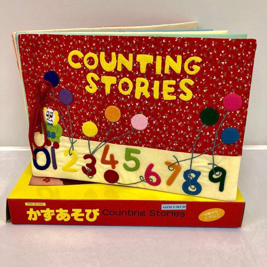 Children's Felt Learning Stories (Counting Stories)