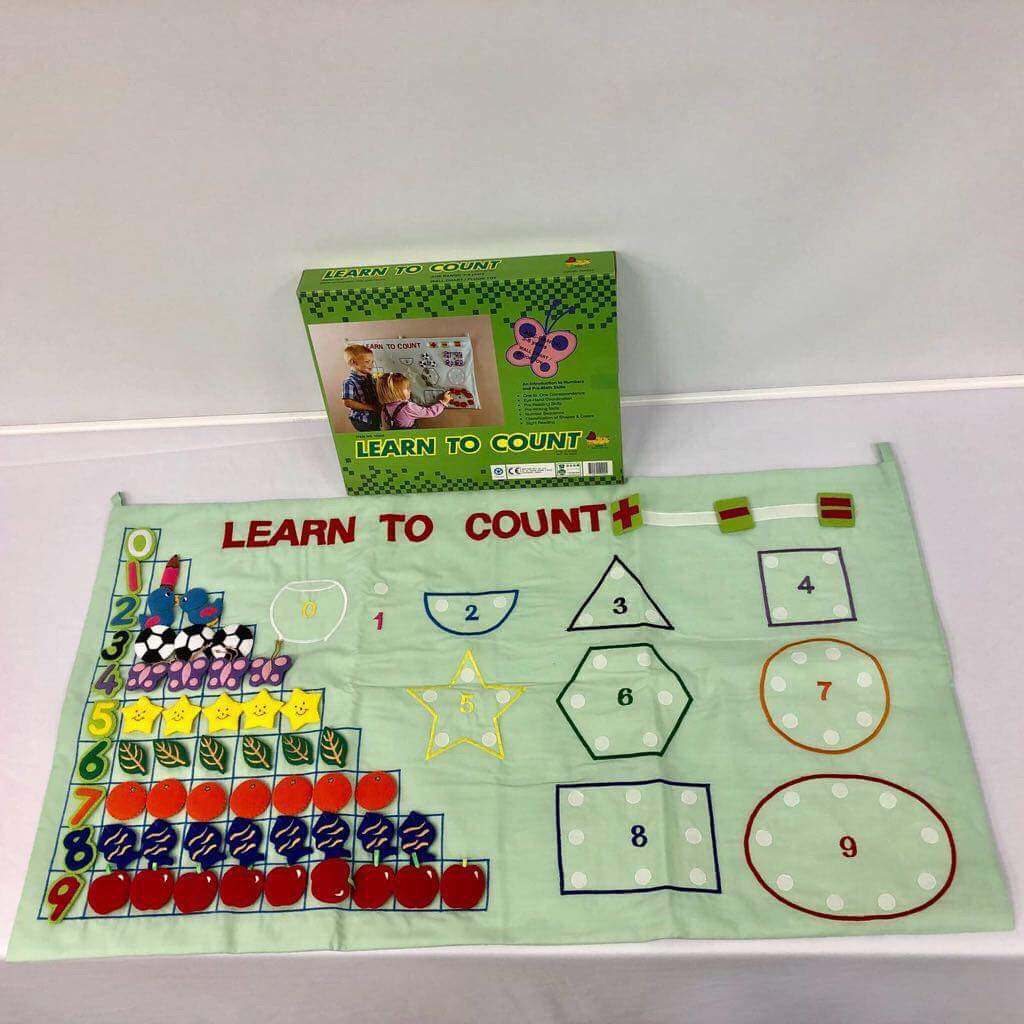 Children's Felt Learning Set (Learn to Count)