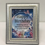 DIY Birthday Photo Frame
