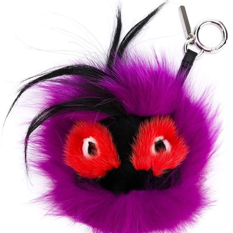 Fendi Bag Bug Purple Charm