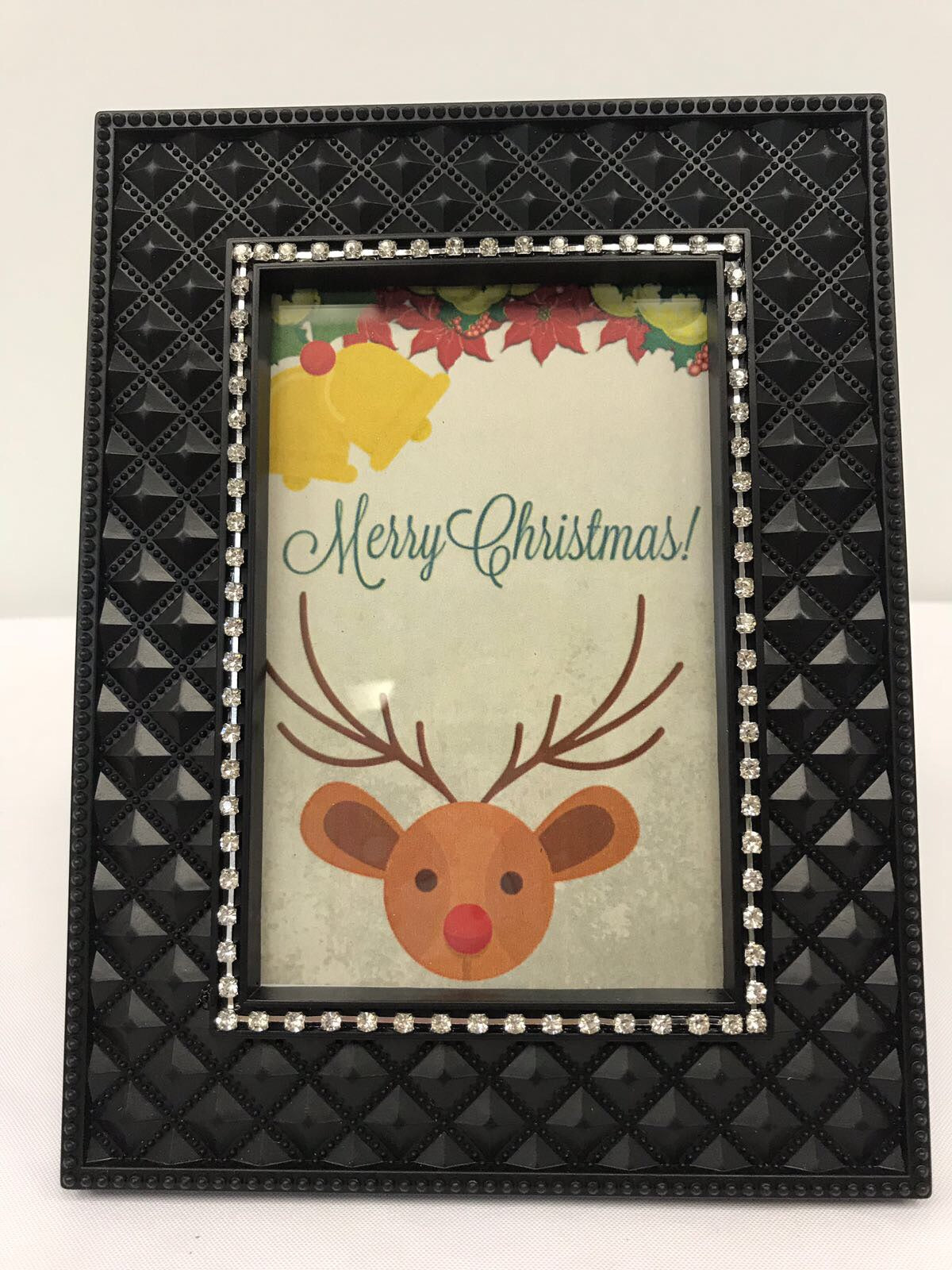 Merry Christmas Reindeer DIY Frame