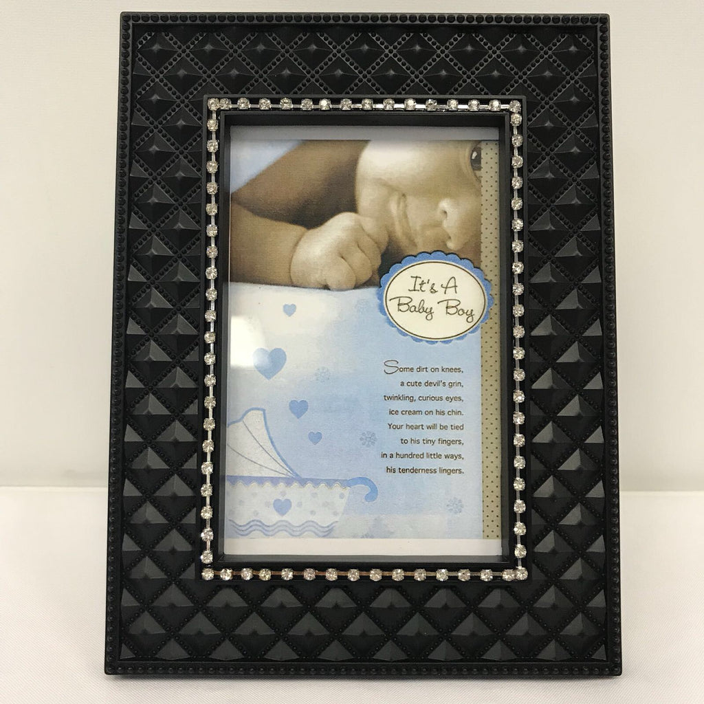 DIY Baby Boy Photo Frame