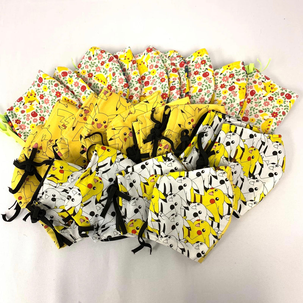 Pikachu Cloth Masks