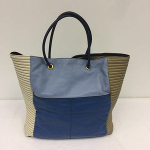YSL Yves Saint Laurent Lucky Chyc Colorblock Tote