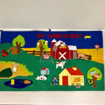 Children's Felt Barn Set