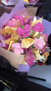 Graduation Bouquet with Small Teddy