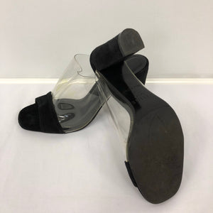 Celine Black Suede Shoes
