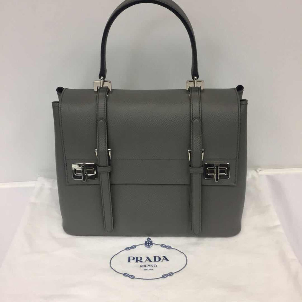 Prada Pattina In Pelle Handbag