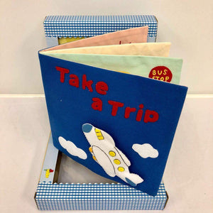 Children's Felt Learning Book (Take a Trip)